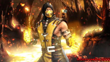 Scorpion 3d On Mortal Kombat Fans Deviantart