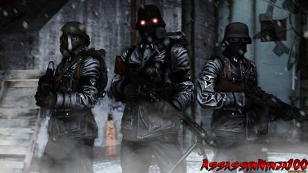 Grupe 935 Soldats, Todesturm Division by AssassinNinja100