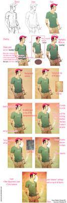 Flamingo - Process by Samurai-PET