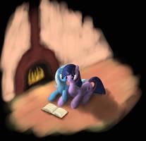 Valentine's Reading by Vabla