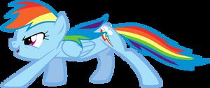 Rainbow Dash - Prowl by Zapapplejam