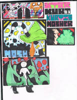 Black Book Page-Shroom Thing by K12RES