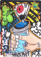 Spray can slap by K12RES