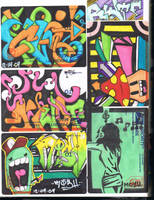 Black Book Page - Stencil by K12RES