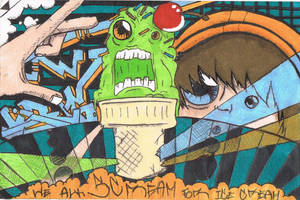 Ice Cream Monster by K12RES