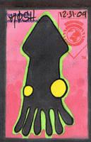 Squid thing Slap by K12RES