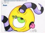 Eye sticker  Slap