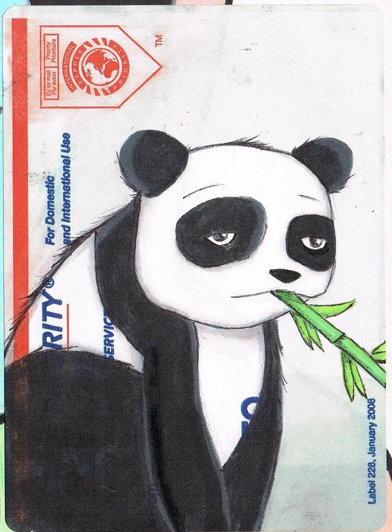 Panda Slap By K12RES On DeviantArt