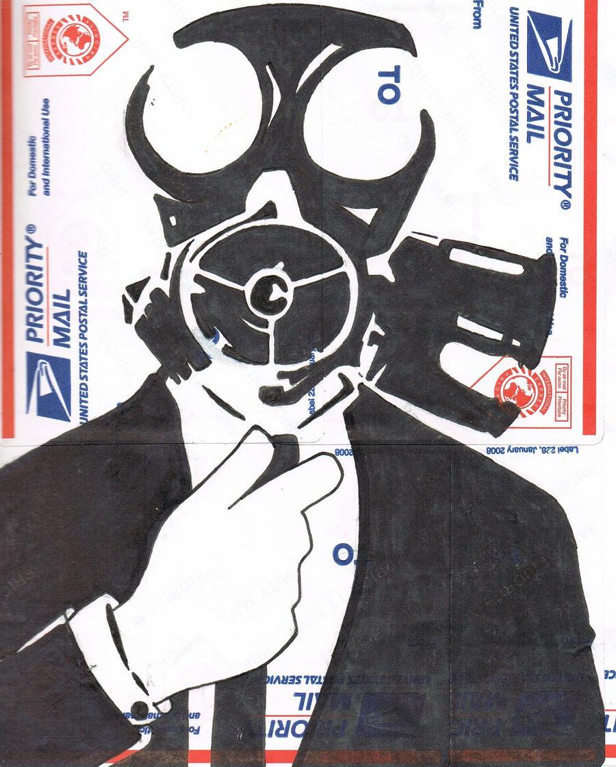 Graffiti Stencils Gas Mask   www.imgkid.com - The Image ...