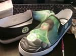Green lantern shoes 2