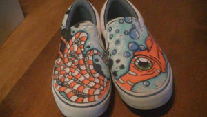 Squid Shoes 1 by K12RES