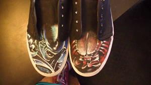 Alien Vs Predator shoes 1 by K12RES