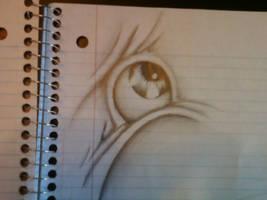 Eye in folds by K12RES