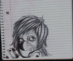 Sketch book girl 2 by K12RES