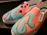 Octopus shoes -Right side-