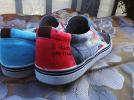 Star Wars shoes -rear- by K12RES