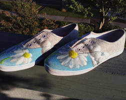 Daisy shoes -left- by K12RES