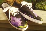 Purple Roses -left inner-