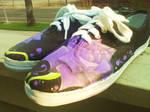 Purple Roses -right set-