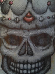 Finished skull by K12RES