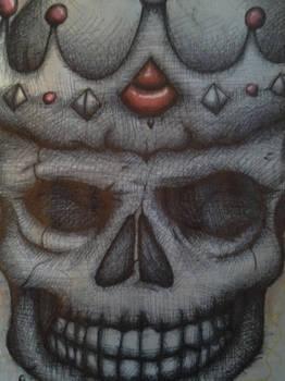 Finished skull