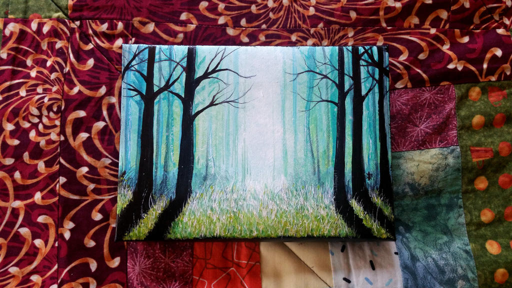 Illuminates Forest series by K12RES