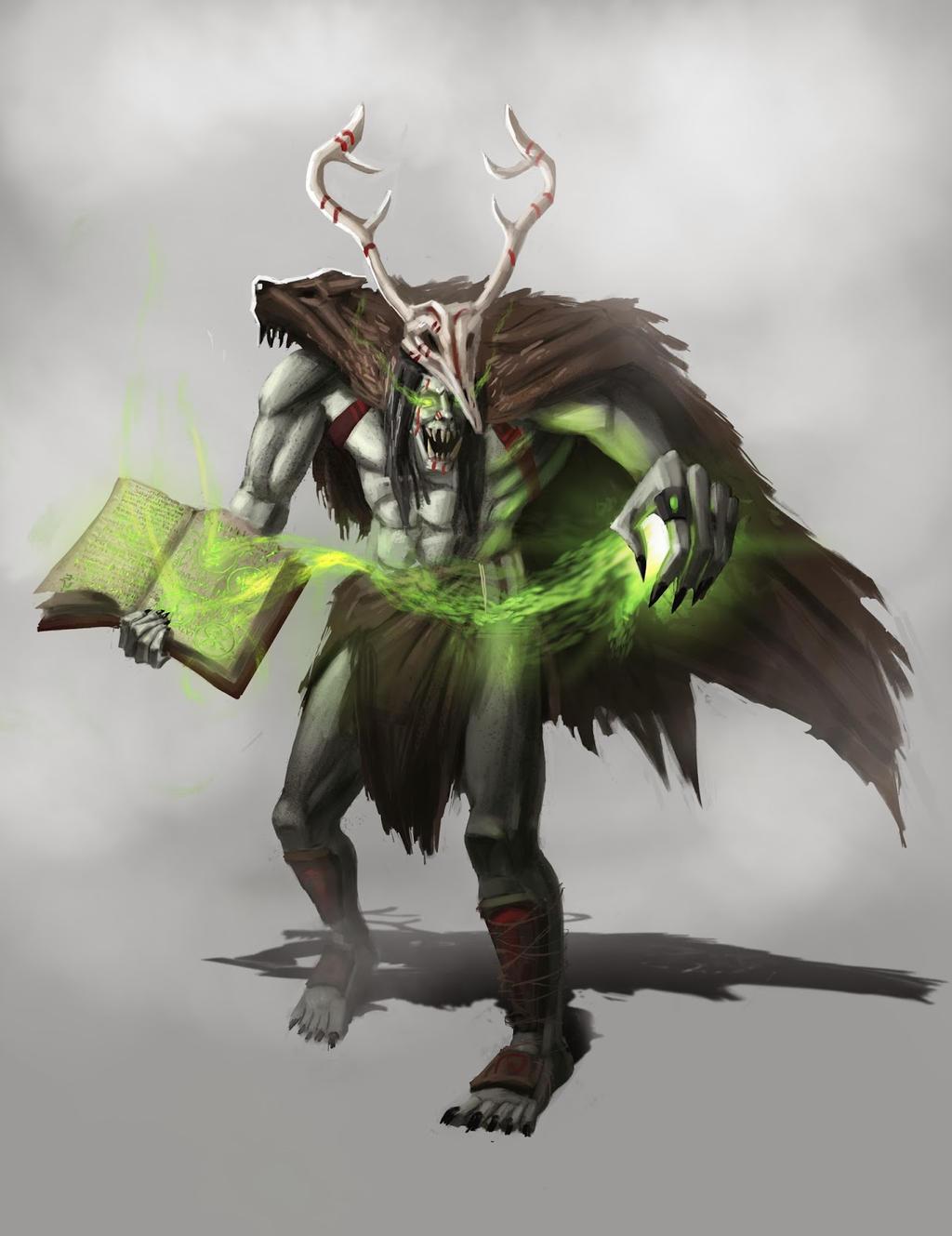 Orc Druid by HakobDesigns
