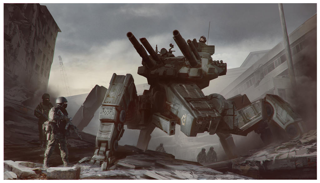T90-S Spider Tank by HakobDesigns
