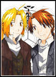 Ed and Al Elric