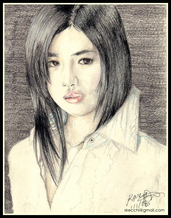 Ishihara Satomi by yamirabbit