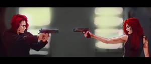 King Cobra VS Red Viper by KrasnyZmeya