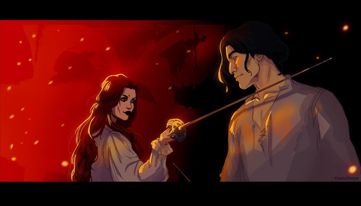 Duel by KrasnyZmeya