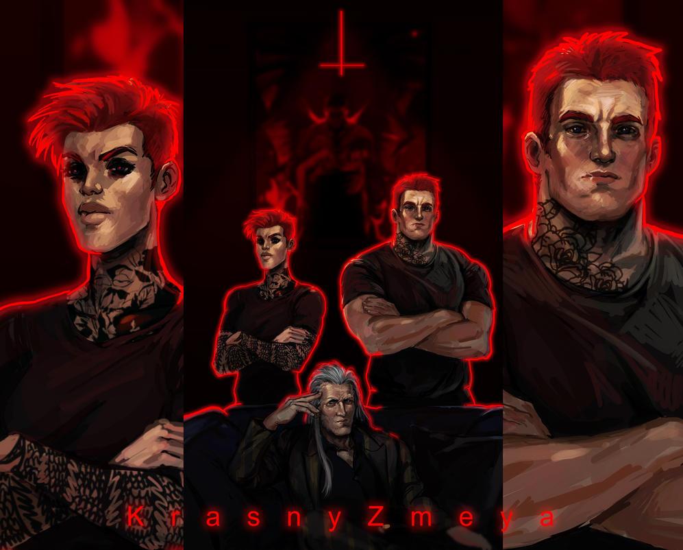 Zakharines by KrasnyZmeya