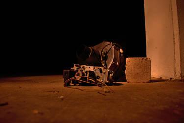 Abandoned electronics by XaetaCore