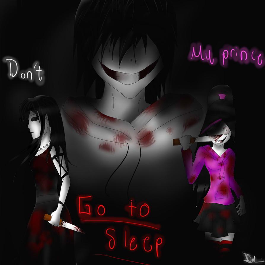 The killers: Jeff, Jane and Nina by GothamGirlDC on DeviantArt