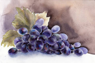 Grapes by Krysevna