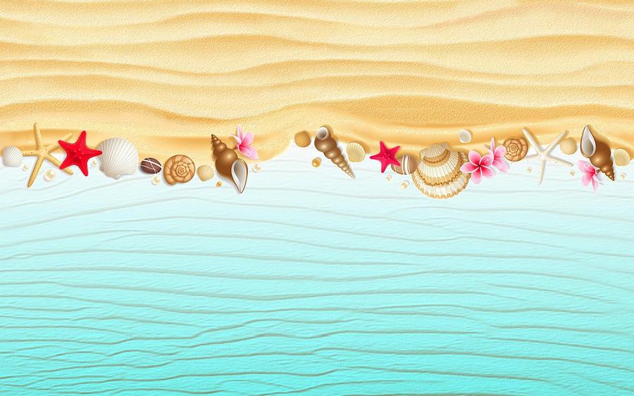 summer wallpaper swimming vector - photo #9
