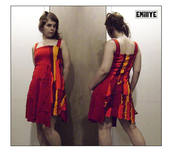 Robe Rouge By Emillye On Deviantart