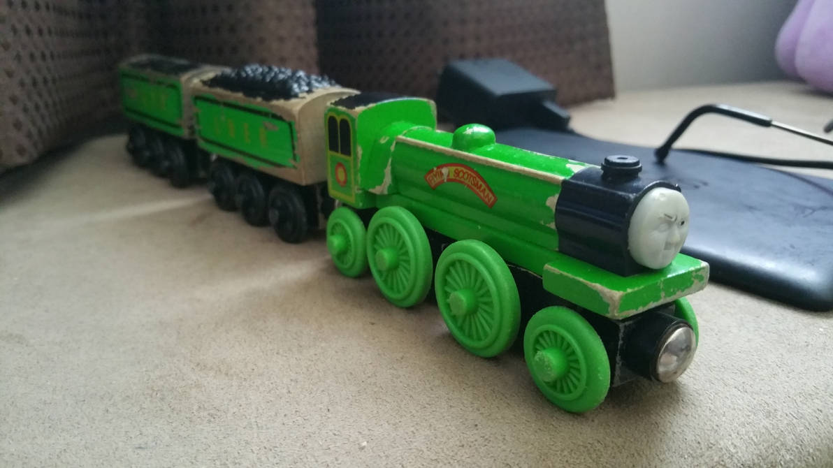 Wooden Railway Flying Scotsman By Nuritoxican On Deviantart