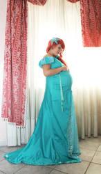 Ariel -  the little mermaid - Pregnant by FrancescaMisa