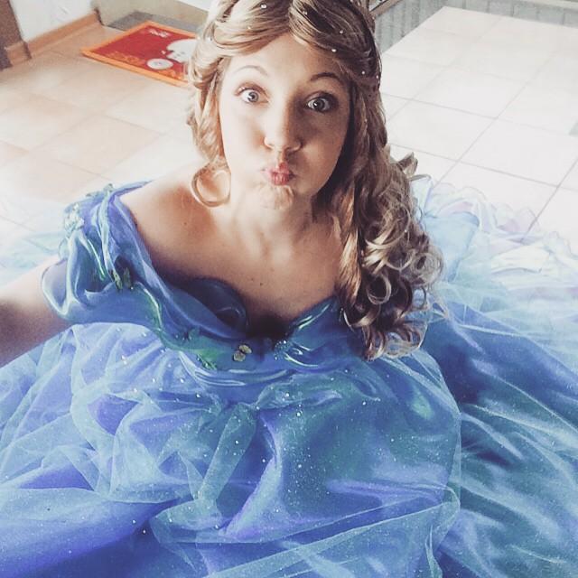Puuffff - Cinderella 2015 by FrancescaMisa