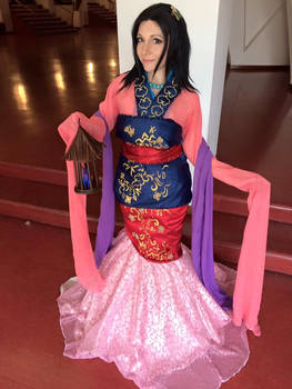 Mulan - Fairytale doll limited edition version
