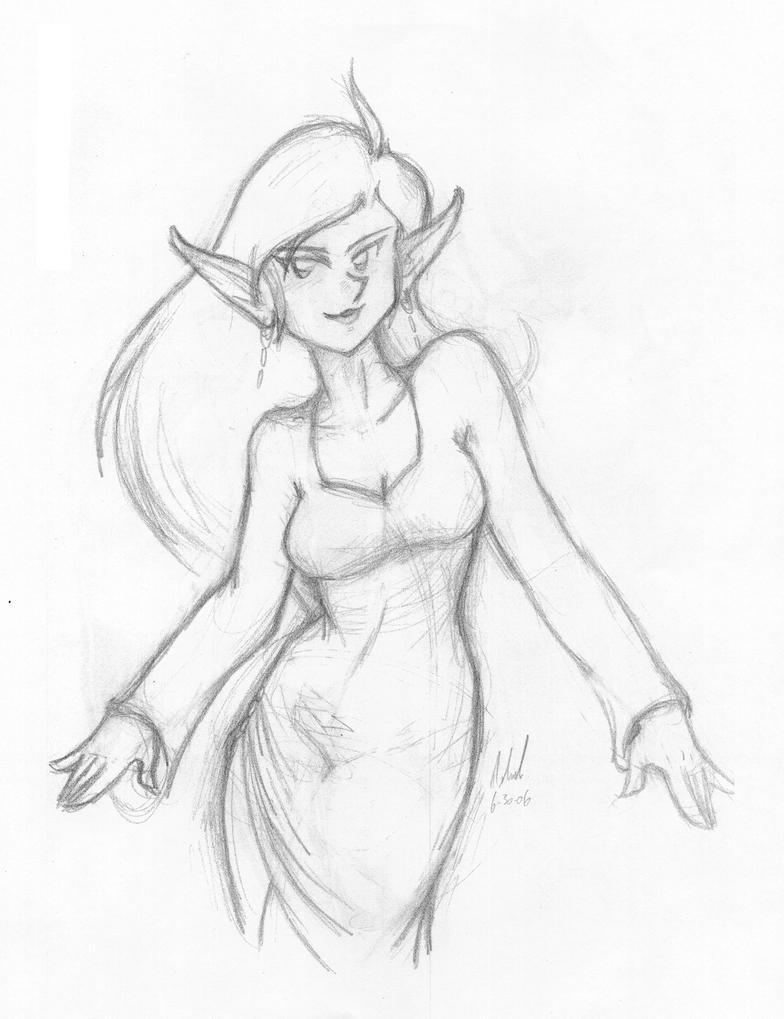 Elf by Thormeister