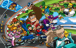 Mario Kart 8 Poster - Nintendo Force# 8