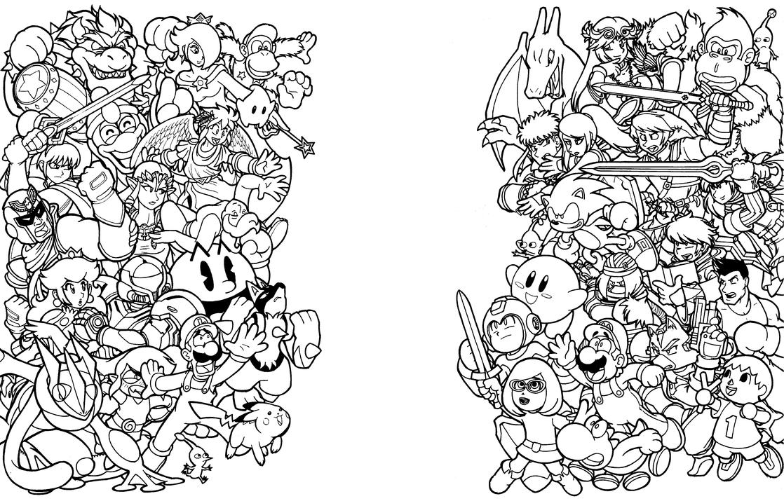 Smash Brothers WIP NIntendo Force by Thormeister
