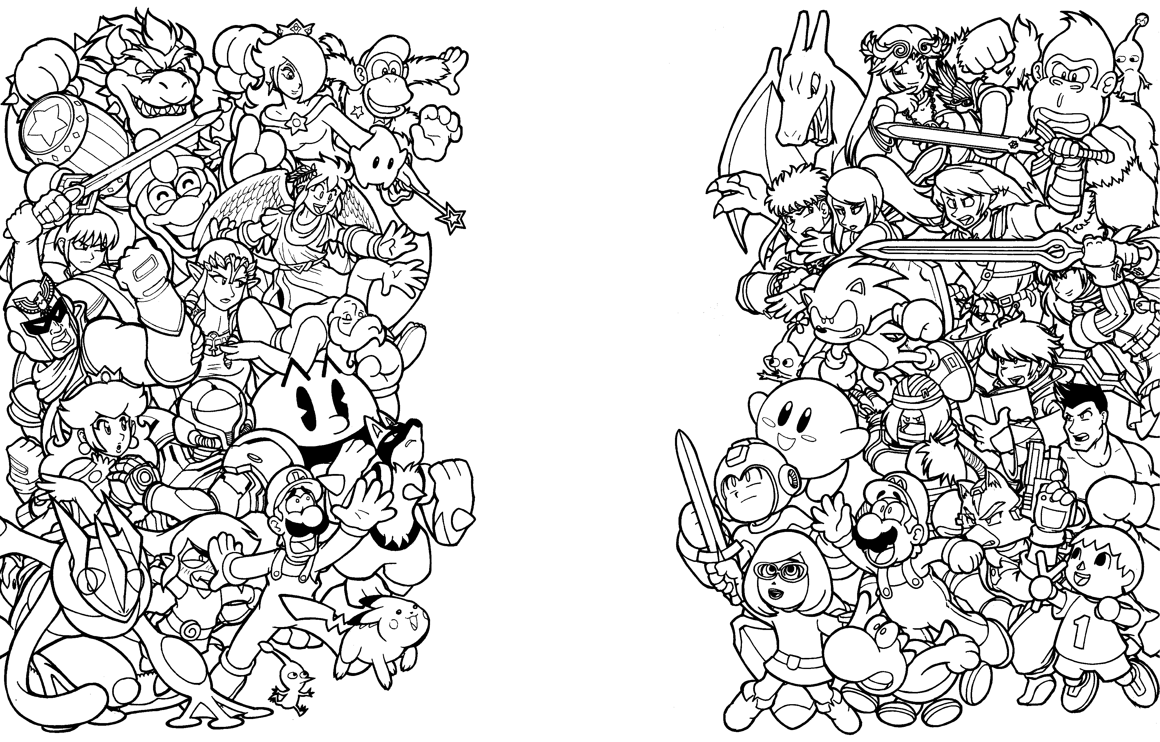 smash brothers wip nintendo force by thormeister on deviantart