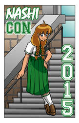 Nashicon 2015 program cover by Thormeister