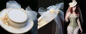 IF Design: Cream Dream Hat by A-Little-White-Lie