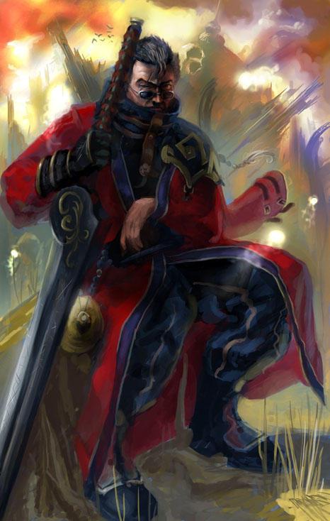 Sir Auron by Abishai