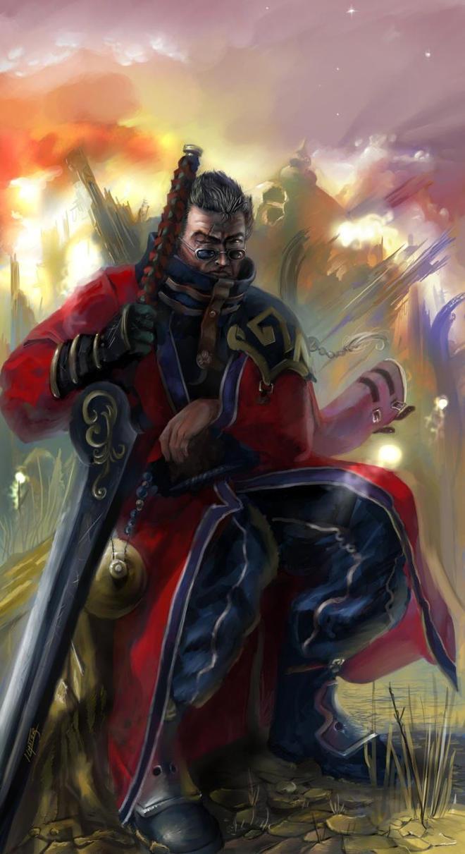 Sir Auron revisited by Abishai